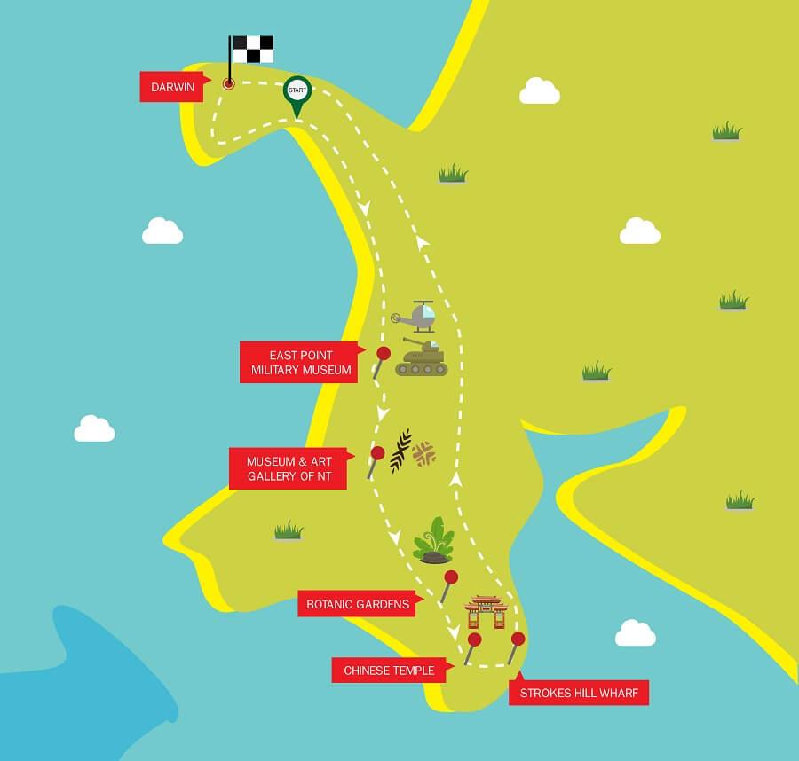 Darwin City Tour and Surrounds $89   Darwin Sightseeing Bus Tour