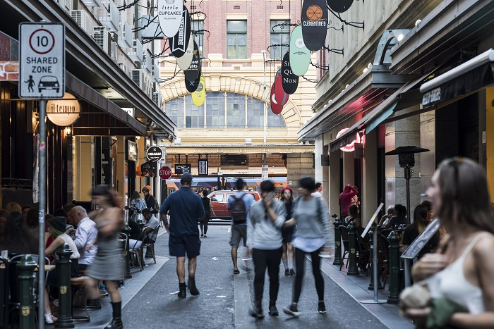Degraves Street, Melbourne