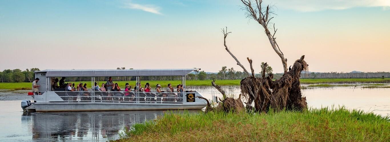 Kakadu One Day Tour Yellow River Cruise