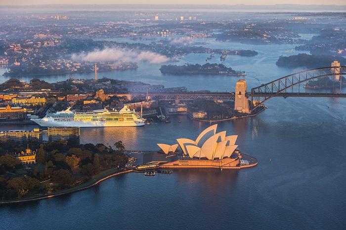 Sydney Harbour Ariel