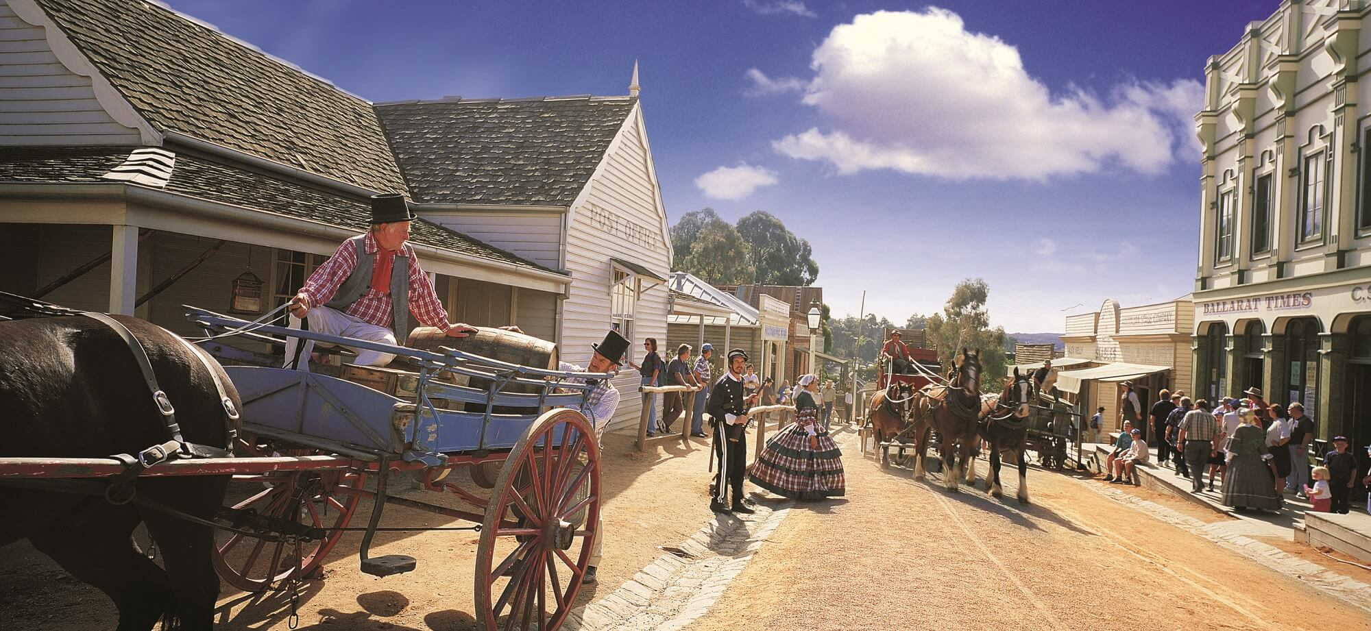 Sovereign Hill, Victoria