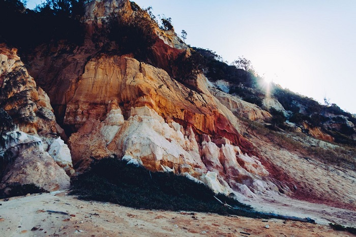 Coloured Sands, Fraser Island