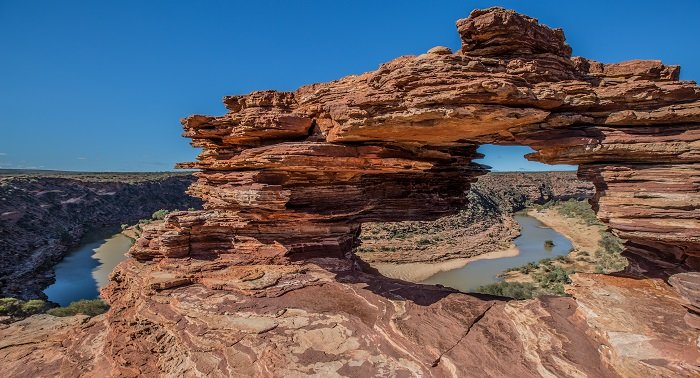 Natures Window in Kalbarri National Park