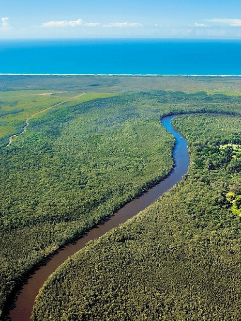 Noosa Everglades Ariel