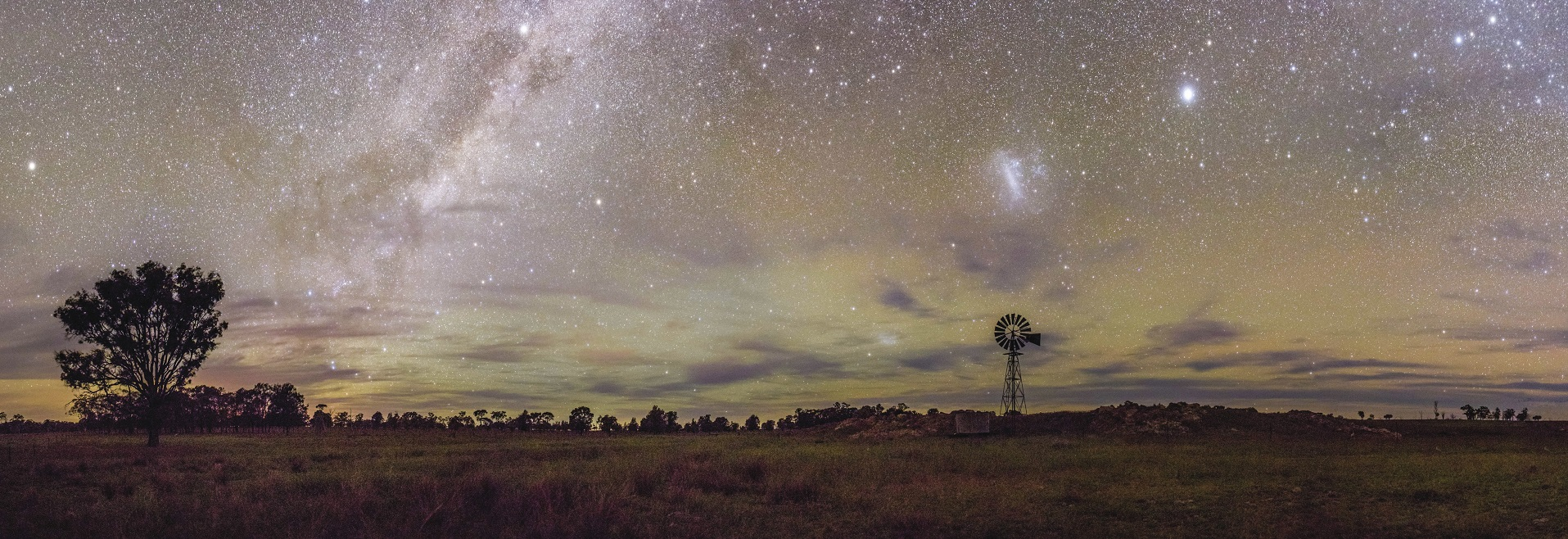 Sleeping Under the Stars in the Outback