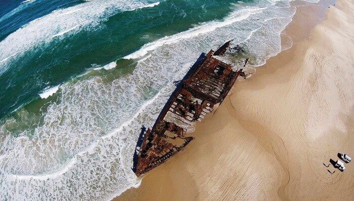 The Fascinating Stories of the Maheno Shipwreck