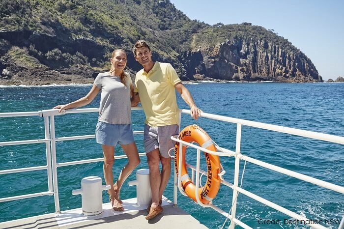Nelson Bay cruise