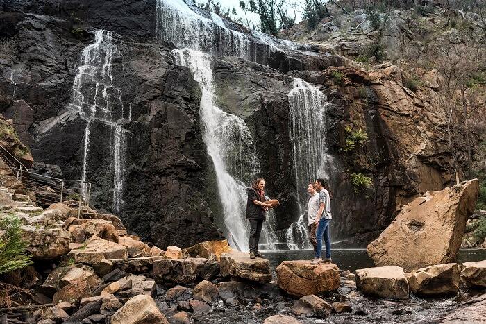 Lake MacKenzie Falls
