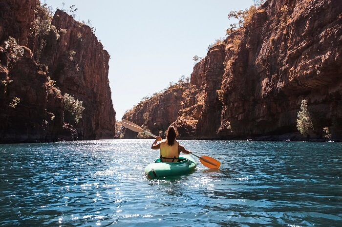Canoeing Katherine Gorge