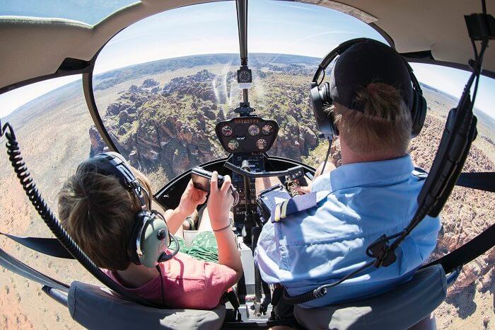 Optional flight over the Bungle Bungles
