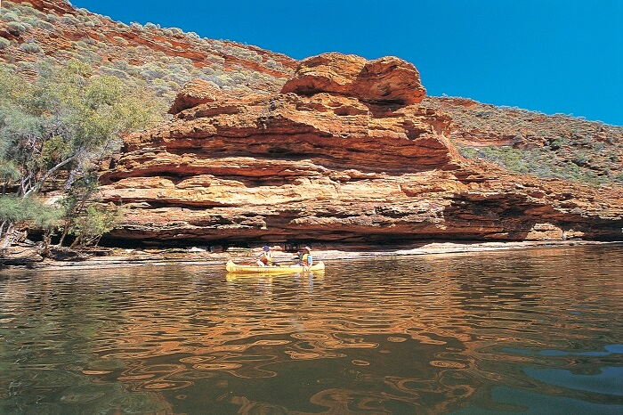 The Murchison River, in Kalbarri National Park