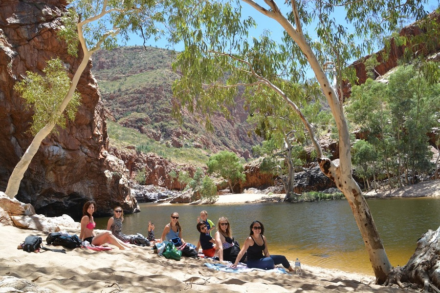 Cooling off in MacDonnell Ranges