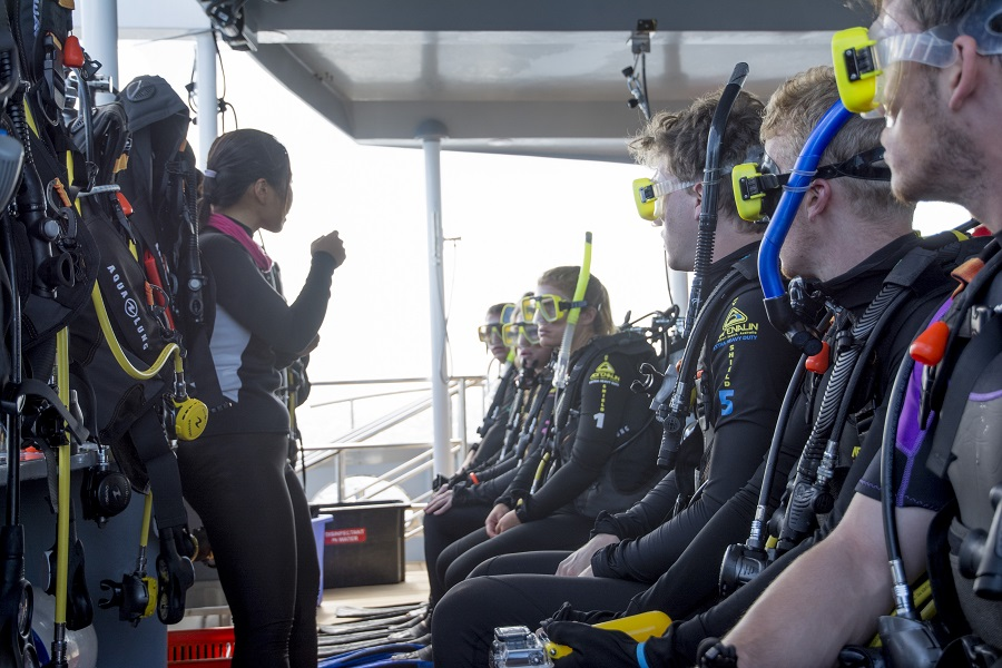 Scuba Diving Instruction