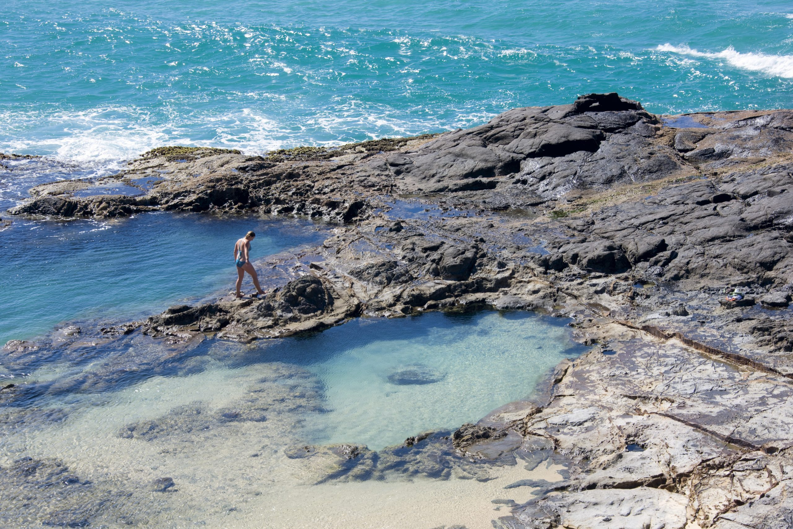 What are the Best Swimming Spots on Fraser Island?