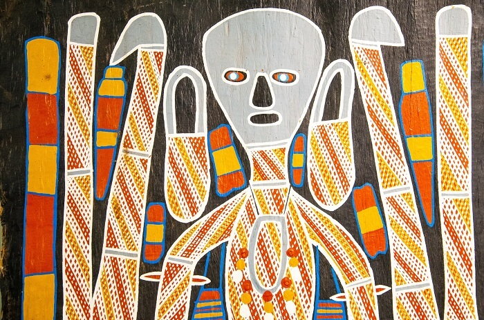 Aboriginal art on display