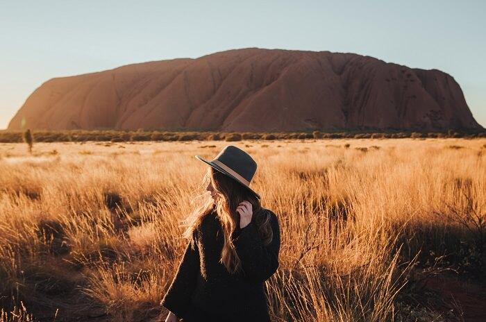 Explore Uluru at sunse