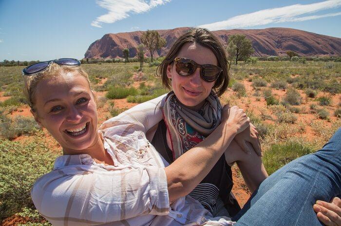 Exploring Uluru