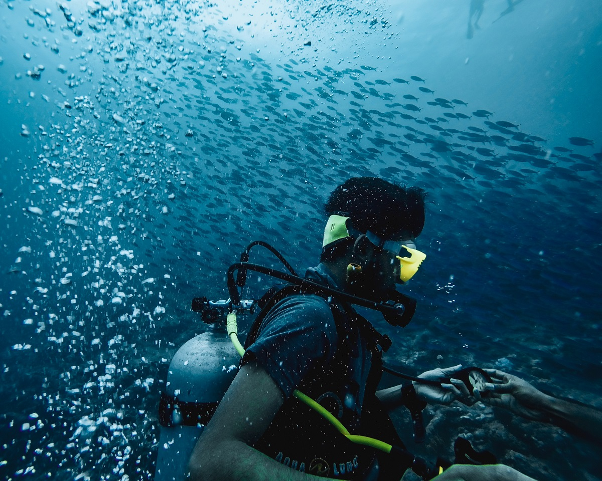 What to expect on your beginner dive on the Great Barrier Reef