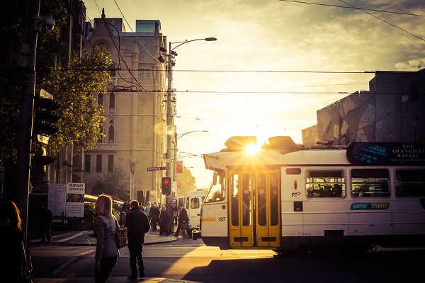 Melbourne City Tram, Australia