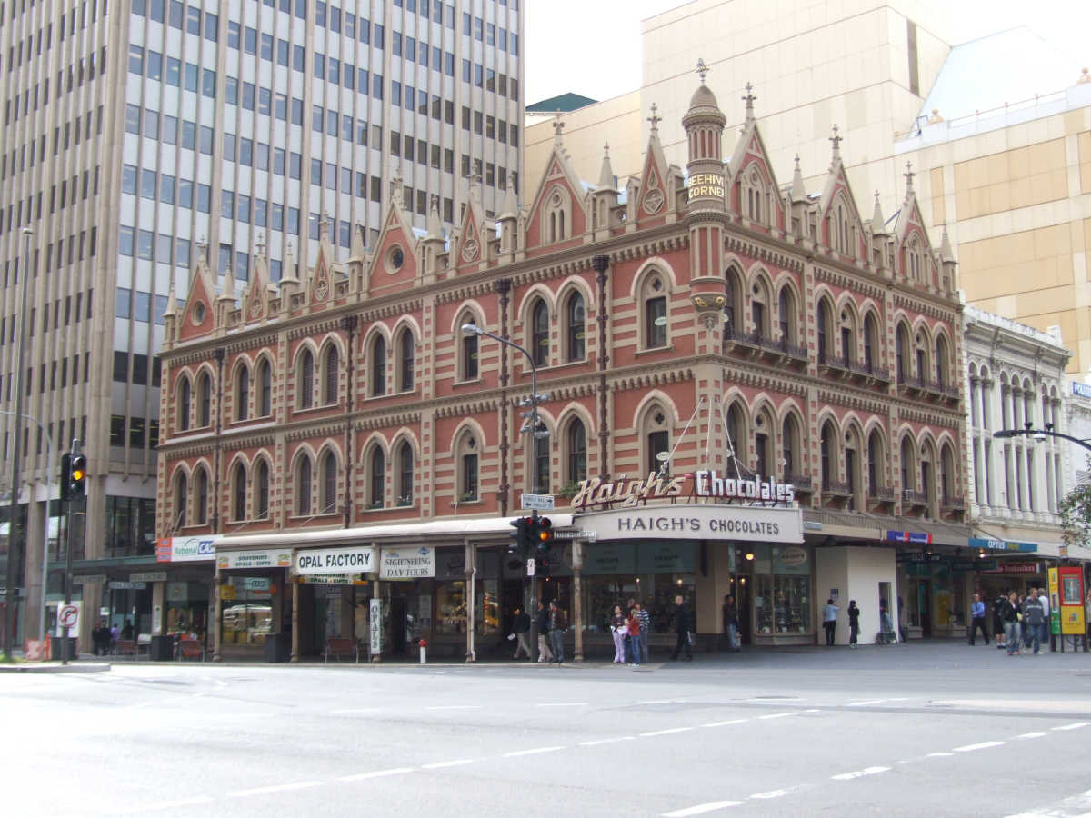 Architecture in Adelaide