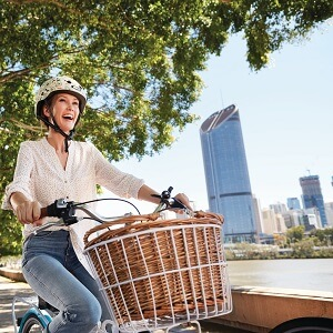 Brisbane City Tour by Bike