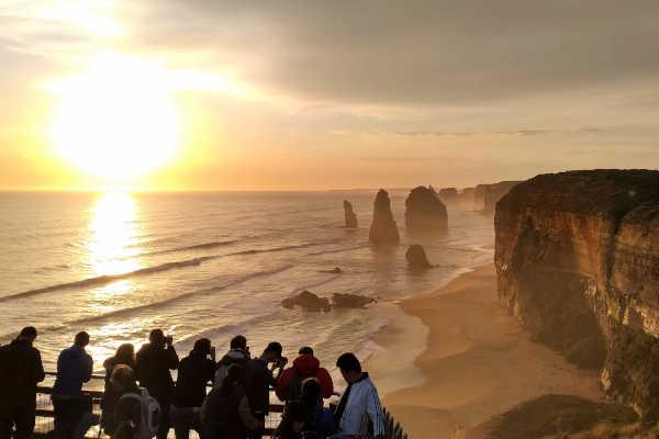 12 Apostles at Dusk