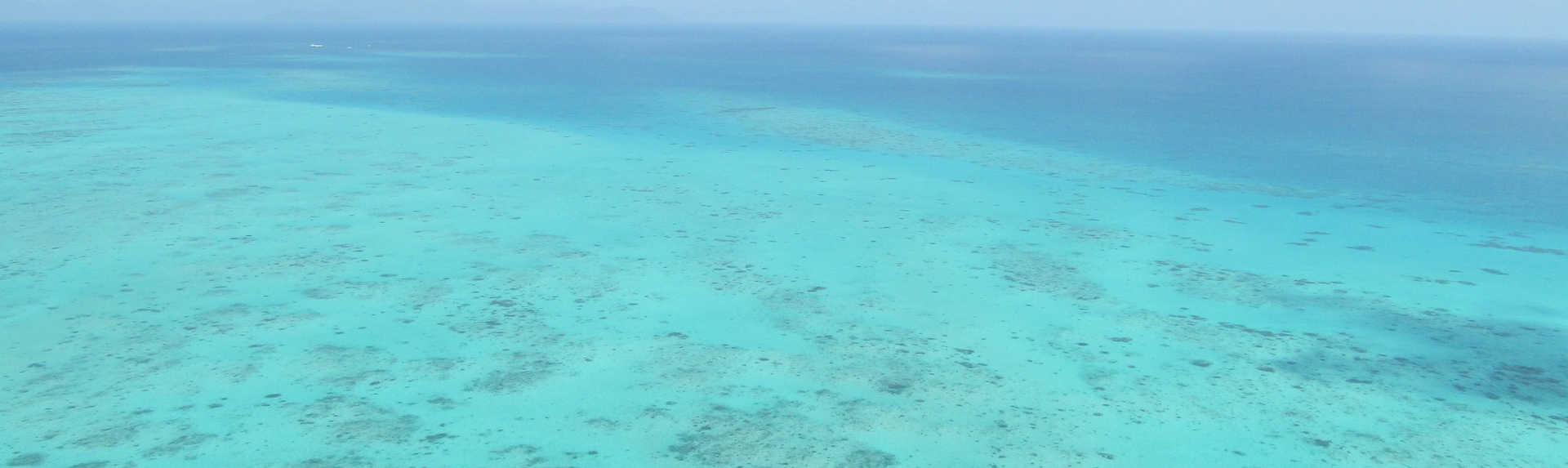 How long is the boat ride to the Great Barrier Reef?