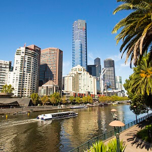 City Sightseeing with Melbourne River Cruise