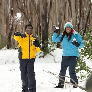 Lake Mountain Snow Tour